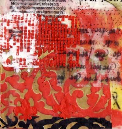 Zijdelings Encaustic Fibre Art